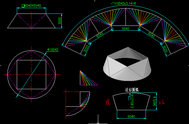 钢构CAD截图