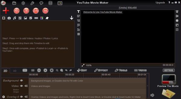 Youtube Movie Maker截图