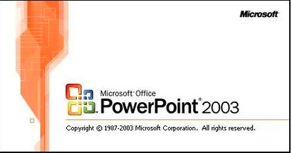 Power Point2003截图