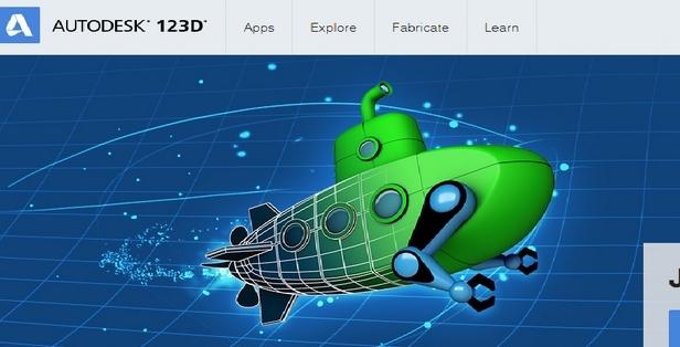 Autodesk 123D Design截图