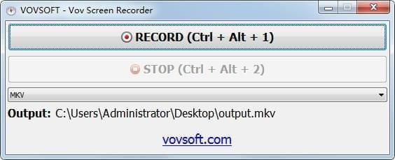 Vov Screen Recorder截图