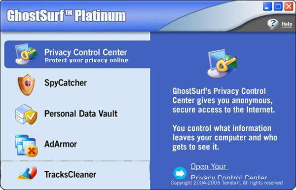 GhostSurf Platinum截图