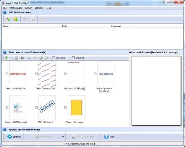 Boxoft PDF Stamper截图