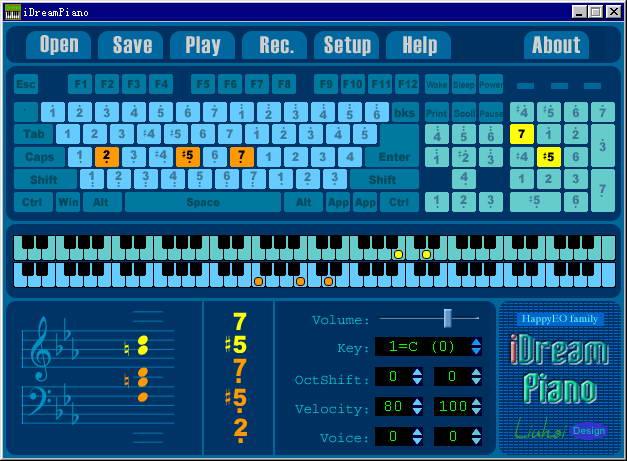 键盘钢琴iDreamPiano截图