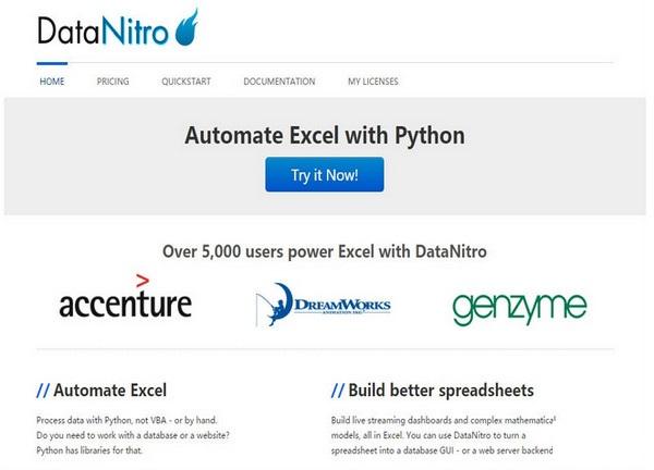 DataNitro插件截图