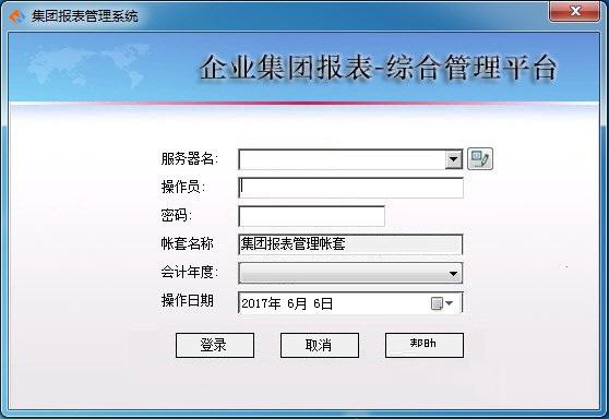 顺宏博远集团报表管理系统截图