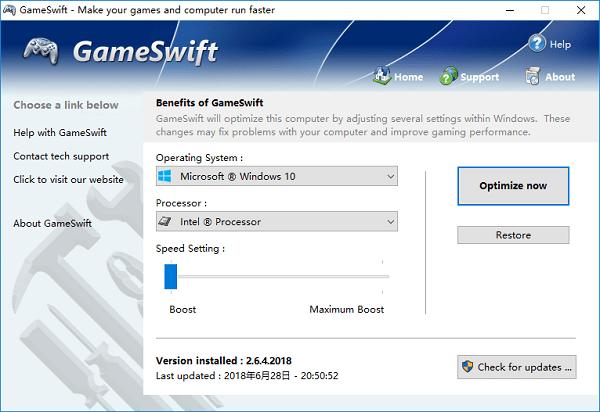 PGWARE GameSwift截图