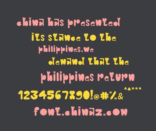 Clover Typeface字体截图