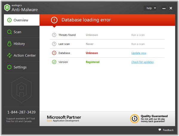 Auslogics Anti Malware截图