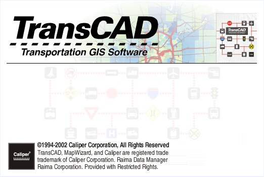 TransCAD截图