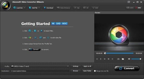 Aiseesoft Video Converter Ultimate截图