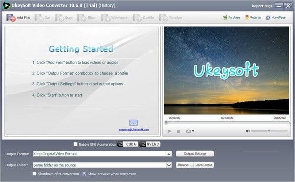 Ukeysoft Video Converter截图