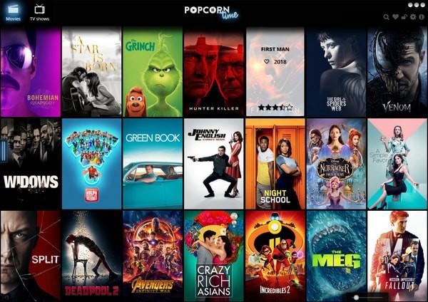 Time4Popcorn Popcorn Time截图