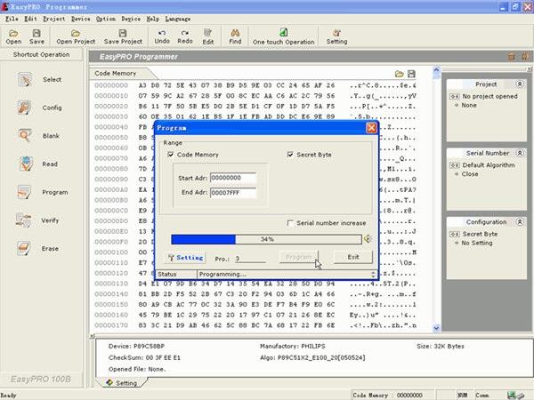EasyPRO Programmer截图