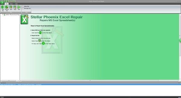 Stellar Phoenix Excel Repair截图