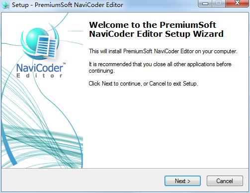 NaviCoder Editor截图