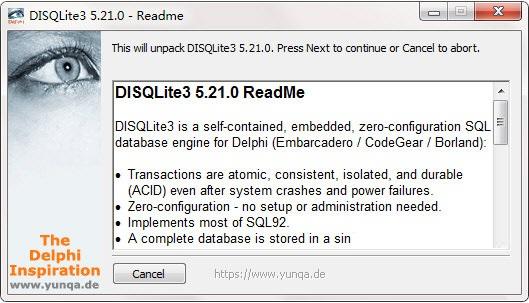 DISQLite3截图