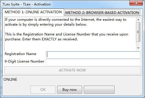 TLex Suite截图