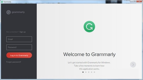 Grammarly截图