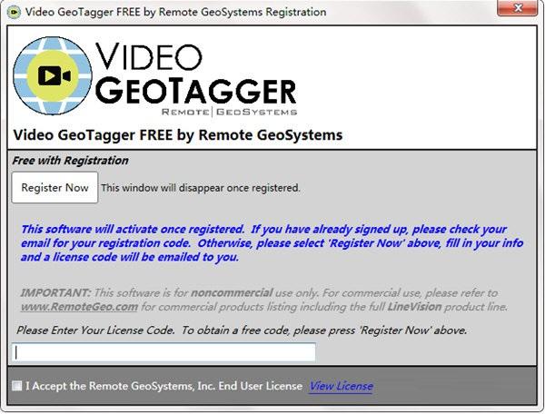 Video GeoTagger截图