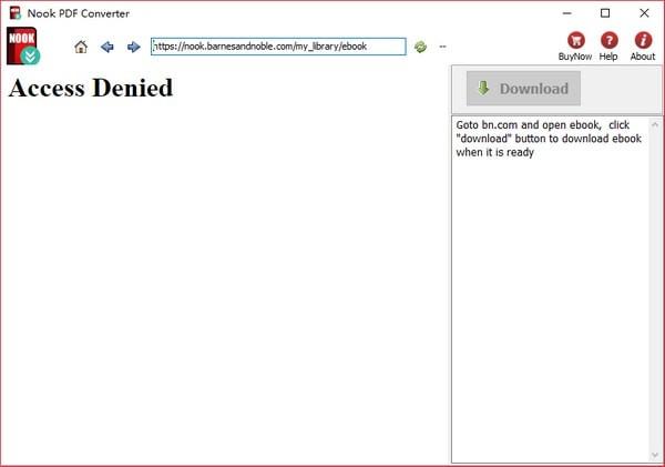 Nook PDF Converter截图