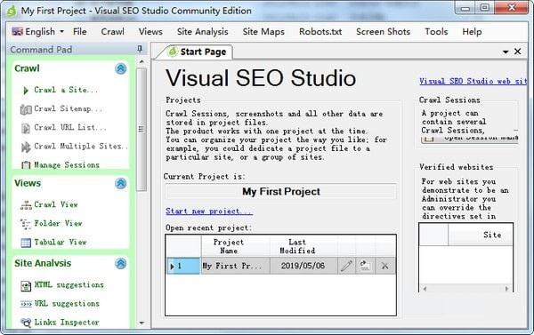 Visual SEO Studio截图