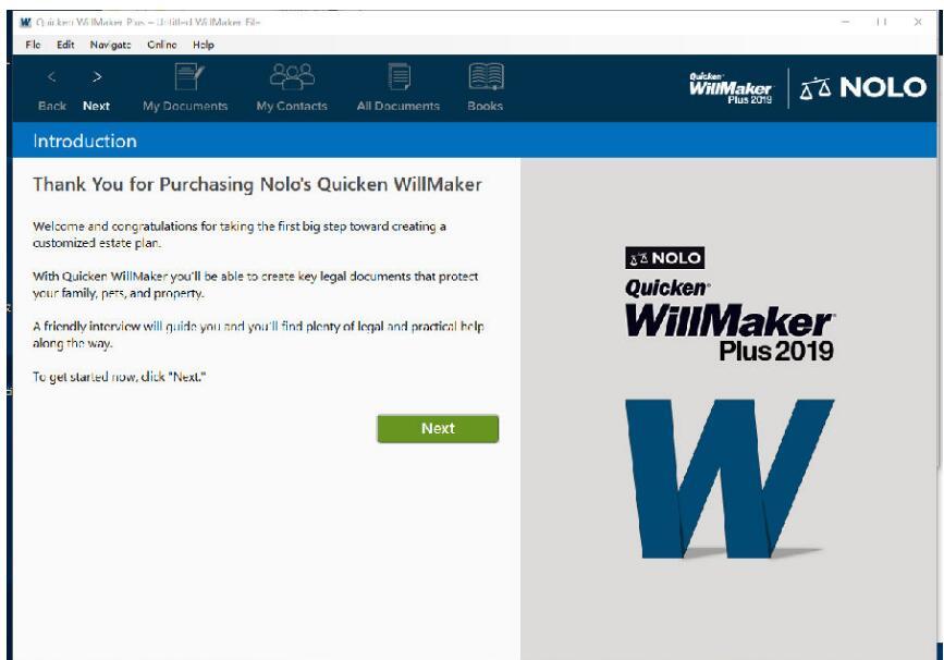Quicken WillMaker Plus截图