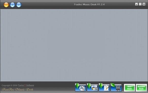 FoxArc Music Desk截图