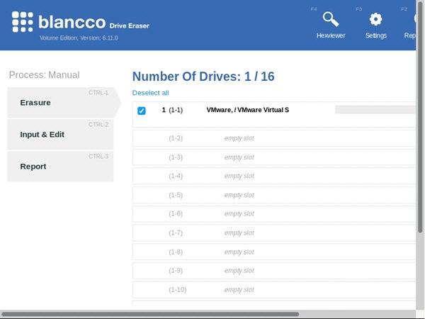 Blancco Drive Eraser官方版 免费硬盘管理工具