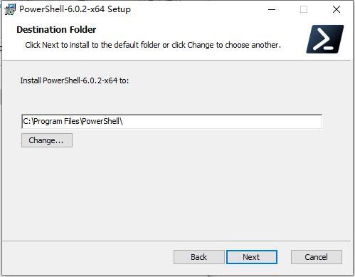 Windows PowerShell截图