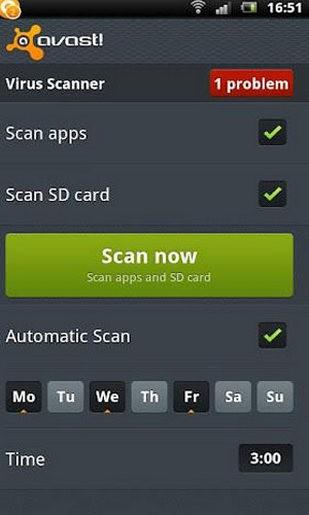 avast手机安全软件截图