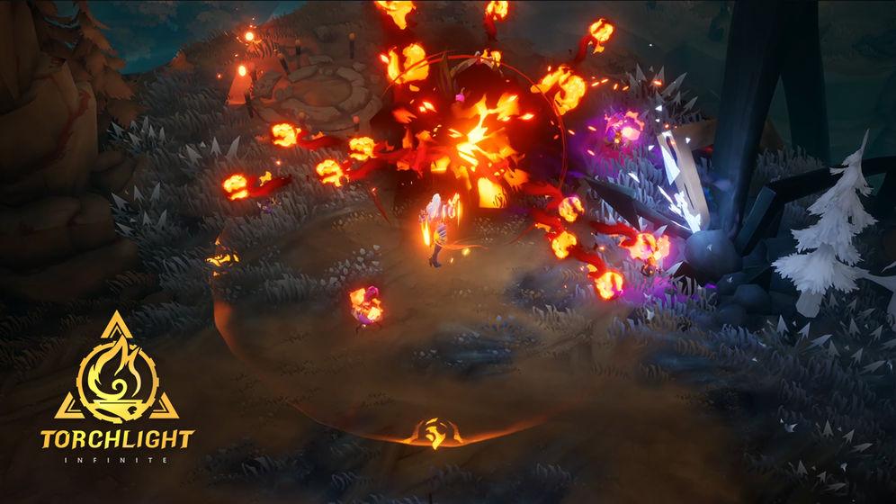 火炬之光:无限截图