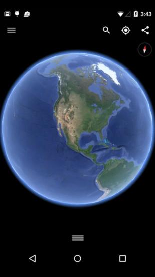 谷歌地球2021截图