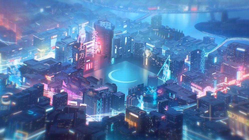 映月城与电子姬截图