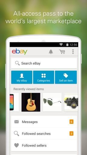 ebay截图