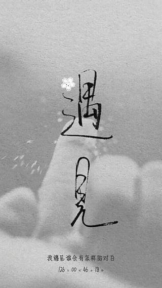 纹字主题截图