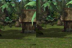 侏罗纪VR截图