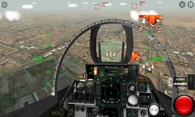 模拟空战截图
