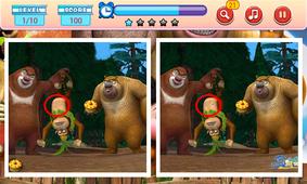 熊出没之儿童益智找茬截图