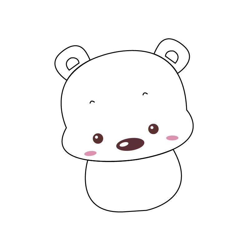 今天小编教大家如何利用AI画简单可爱的北极熊,那么接下来让我们一起去学习学习利用AI画简单可爱的北极熊的具体步骤,希望可以帮助到你哦。 利用AI画简单可爱的北极熊的具体步骤 1、在AI中新建画板,使用钢笔工具勾画出小北极熊的头部。