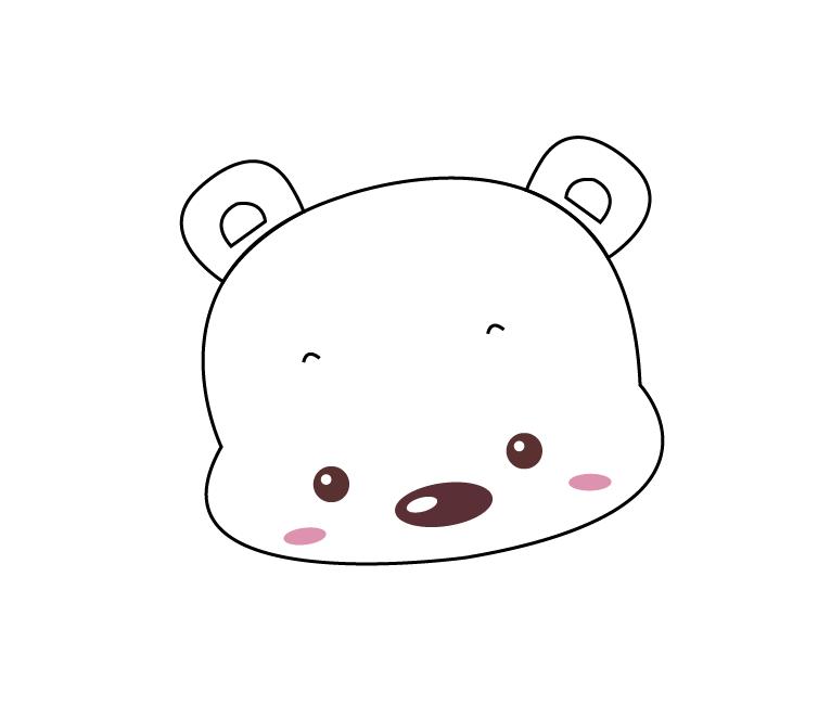 利用AI画具体可爱的北极熊的简单漫画步骤炎图片