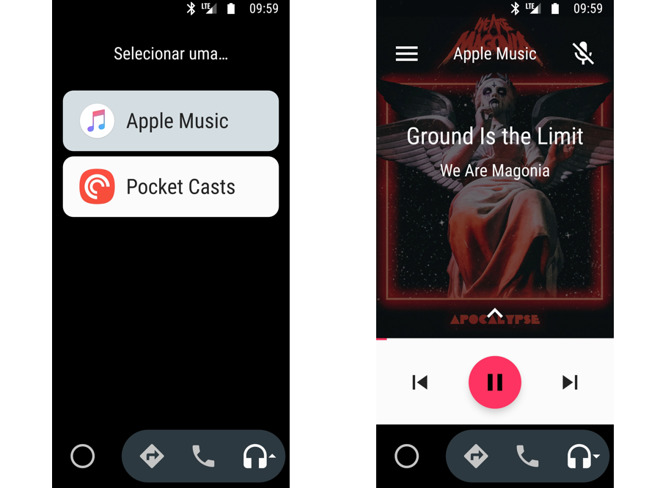 Apple Music 安卓版最新 beta 可支持 Android Auto 平台