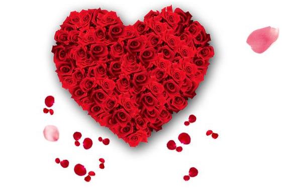 ppt制作表白动画的具体讲解    先找到一些好看的爱心