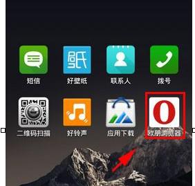 欧朋浏览器设置无痕浏览模式的操作过程