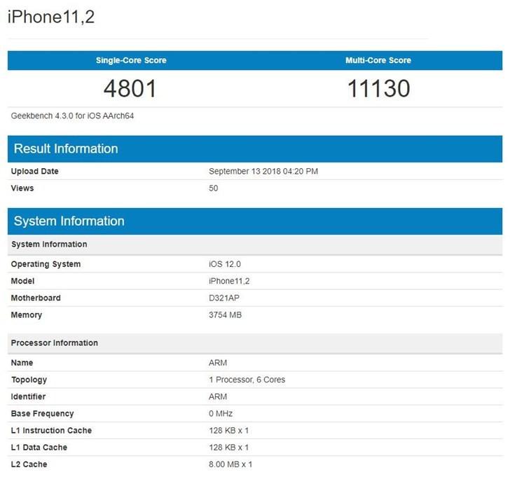 苹果iPhone XS/XR/XS Max跑分对比:看完这篇再决定到底买什么