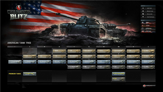 坦克世界闪击战战车科技树详解