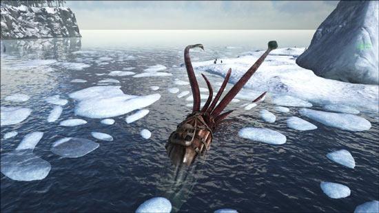 方舟生存进化托斯特巨鱿驯服攻略截图