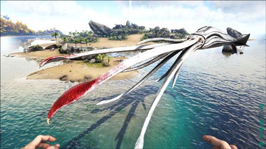 方舟生存进化托斯特巨鱿驯服攻略