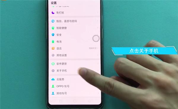 在oppor17手机中查看序列号的方法介绍截图