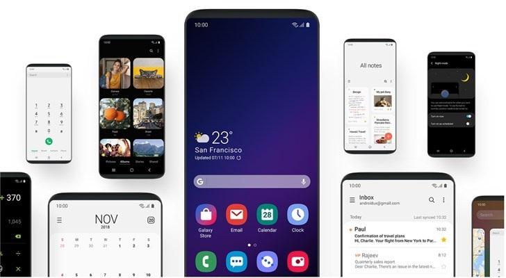 One UI将下放到三星S8/S8+/Note8手机中